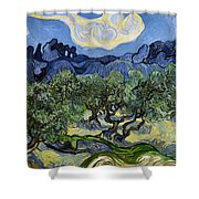 The Olive Tree Shower Curtain