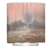 The One Tower Shower Curtain