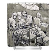 The Operation Theatre, 1966 Shower Curtain