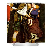 The Order Of Release Shower Curtain