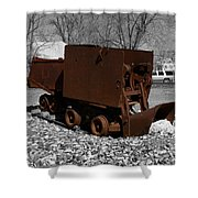 The Ore Tender Shower Curtain