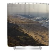 The Oregon Coastline Shower Curtain