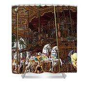 The Original French Carousel Shower Curtain