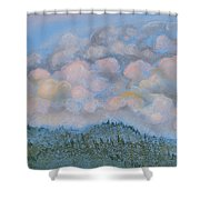 The Other Side Of The Sunset Shower Curtain