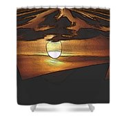 The Other World Shower Curtain