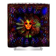 The Outer Limits  Shower Curtain