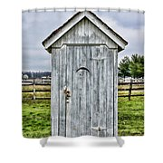 The Outhouse - 2 Shower Curtain
