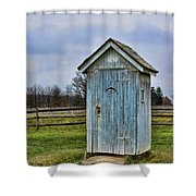 The Outhouse - 4 Shower Curtain