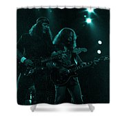 The Outlaws - Hughie Thomasson And Billy Jones-1st Release Special Price Shower Curtain