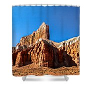 The Outpost Rock Shower Curtain