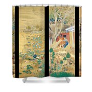 The Outskirts Of Kyoto Throughout The Season Shower Curtain