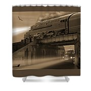 The Overpass 2 Shower Curtain