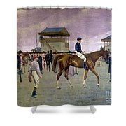 The Owner S Enclosure Newmarket Shower Curtain