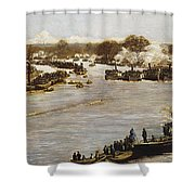 The Oxford And Cambridge Boat Race Shower Curtain