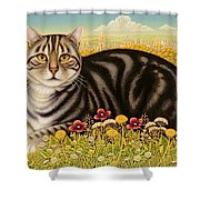 The Oxford Cat Shower Curtain