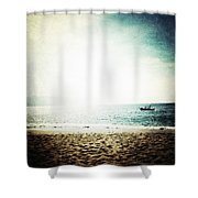 The Pacific Shower Curtain