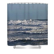 The Pacific Ocean Near Oceanside Ca Shower Curtain