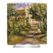 The Painters Garden, Cagnes, C.1908 Shower Curtain