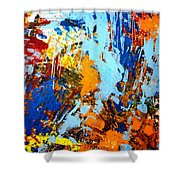 The Painting Has A Life Of Its Own. I Try To Let It Come Through. Jackson Pollock   Shower Curtain