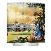 The Palace Of The Tuileries Shower Curtain