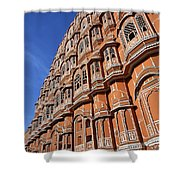 The Palace Of The Winds In Jaipur Shower Curtain