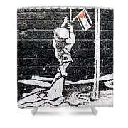 The Palestinian Flag Shower Curtain
