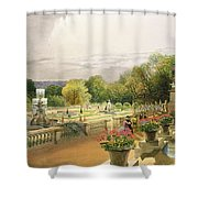 The Parterre Harewood House Near Leeds Shower Curtain
