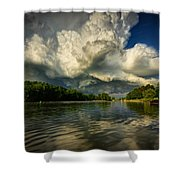 The Passing Storm Shower Curtain