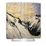 The Past Lingers Shower Curtain