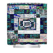 The Patchwork Shower Curtain