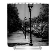 The Path In Nature Shower Curtain