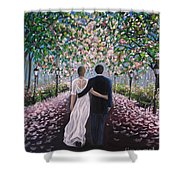 The Path Of Love  Shower Curtain