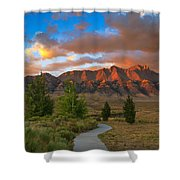 The Path To Beauty Shower Curtain