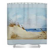 The Path To The Beach Shower Curtain