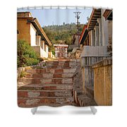The Path To The Temple Shower Curtain