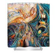The Patriarchs Series - Moses Shower Curtain