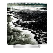 The Peaceful Ocean Shower Curtain
