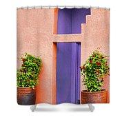 The Peach House  Shower Curtain