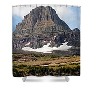 The Peak At Logans Pass Shower Curtain