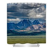 The Peaks Shower Curtain