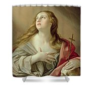 The Penitent Magdalene Shower Curtain