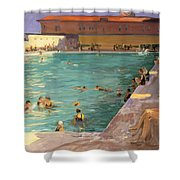 The Peoples Pool, Palm Beach, 1927 Shower Curtain