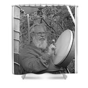 The Percussionist And  Storyteller Shower Curtain
