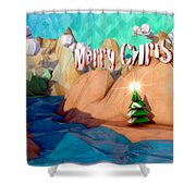 The Perfect Christmas Tree Shower Curtain