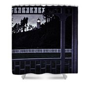 The Perfect Frame For The Heceta Lighthouse Shower Curtain