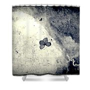 The Petal Of Butterfly Shower Curtain
