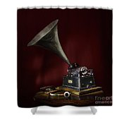 The Phonograph 5 Shower Curtain