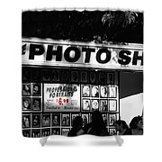 The Photo Shop Shower Curtain by Cheryl Young