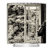 The Photographer's Quest Shower Curtain