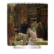 The Picture Gallery, 1874 Shower Curtain